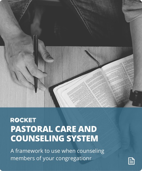 Pastoral Counseling System Card